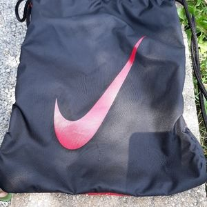"""Nike """"only one gear"""" drawstring backpack"""